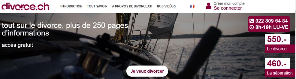 La convention de divorce suisse expliquée sur divorce.ch